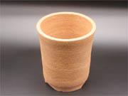 丹波焼 伝市シャジン鉢ガス釜 4.5号 (たんばやき でんいちしゃじんばちがすがま 4.5ごう)